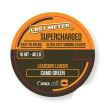 Prologic Supercharged Leadcore Leader 10m 50lbs Camo Green