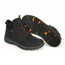 Fox COLLECTION BLACK & ORANGE MID BOOTS 43-as