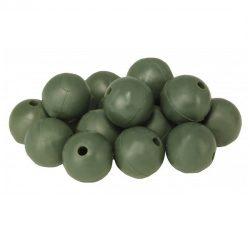 CZ Gumigyöngy 6mm 25db green