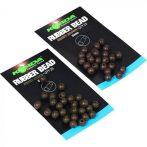Korda Safe Zone 5mm Rubber Bead Brown gumigyöngy