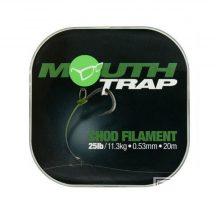 KORDA Mouth Trap 15lb 20m Chod Filament előkezsinór