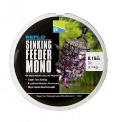 Preston Reflo Sinking Feeder Mono 0,20mm 5lb Green