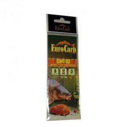 Euro Carp Előkötött Feeder Horog 10-es Horog  7mm-es Tüskével
