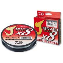 Daiwa J-Braid Grand X8 0.10mm-135m Gray-Light(szürke)