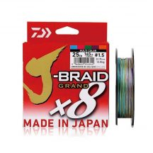 DAIWA - J-BRAID GRAND X8 0,13MM 150M MULTICOLOR