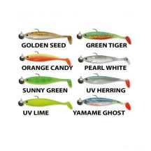 Cormoran Action Fin Shad Ready to fish 13cm Orange Candy