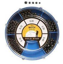 GOLD STAR - ÓLOMKÉSZLET 0,1G-0,5G 100G