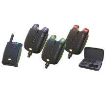 Carp Academy Sensor WDX elektromos kapásjelző szett 3+1
