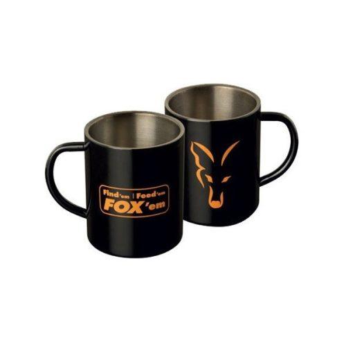 Fox - Acél Bögre