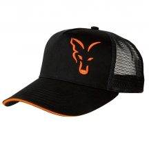 Fox BLACK & ORANGE TRUCKER sapka