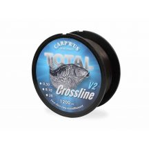 Carp'R'Us Total Crossline V2 zsinór - 0,30mm 1200m 9kg / 20lb - 1200m
