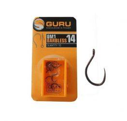 GURU QM1 10-es szakáll nélküli horog