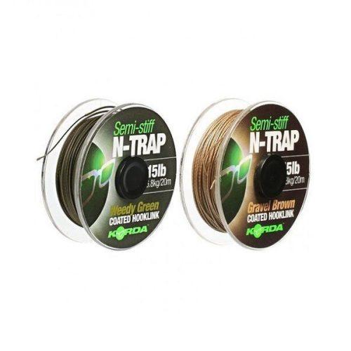 KORDA - N-TRAP SEMI-STIFF WEEDY GREEN 20LB