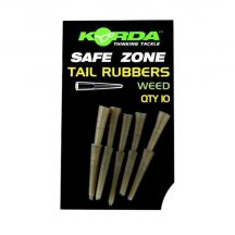 Korda  Safe Zone Tail Rubbers Clay