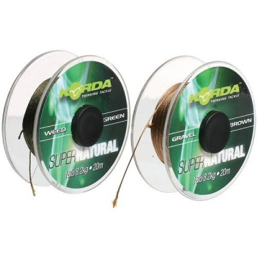 Korda - Supernatural Hooklink 18lb Weed Green