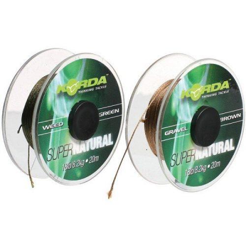 KORDA - SUPERNATURAL HOOKLINK 25LB WEED GREEN