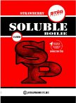 STÉG PRODUCT - SOLUBLE BOILIE 24MM - STRAWBERRY 1KG