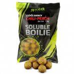 STÉG PRODUCT - SOLUBLE BOILIE 24MM - PEACH 1KG